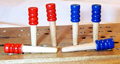 pic of wooden pegs
